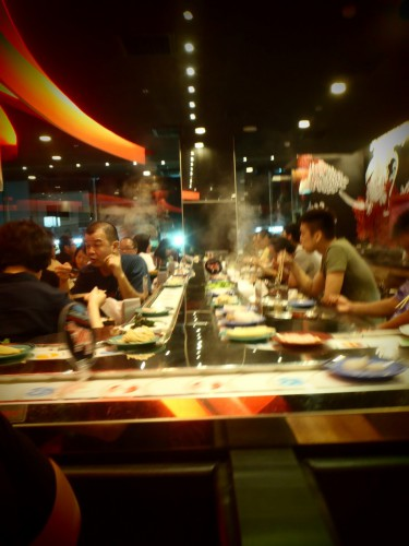 Sushi Steamboat All You Can Eat Laufband